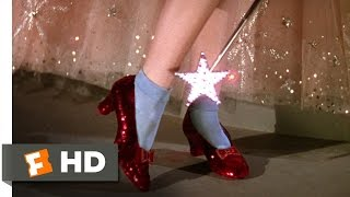 The Ruby Slippers  The Wizard of Oz 38 Movie CLIP 1939 HD