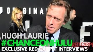 Hugh Laurie interviewed at the Red Carpet Premiere of Chance on Hulu