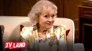 No One Is Safe When Betty White Is Around Compilation  Hot In Cleveland