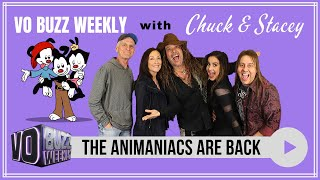 The Animaniacs Are Back  Watch 1st Official Interview Together