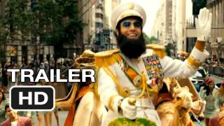 The Dictator Official Trailer 1  Sacha Baron Cohen Movie 2012 HD