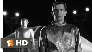 The Day the Earth Stood Still 45 Movie CLIP  Klaatus Speech 1951 HD
