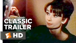 Charade 1963 Official Trailer  Cary Grant Audrey Hepburn Movie HD
