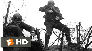 The Longest Day 33 Movie CLIP  The Assault on Pointe du Hoc 1962 HD