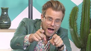 Nickelodeons The Crystal Maze Host Adam Conover Talks Funniest OnSet Moments  Hollywire