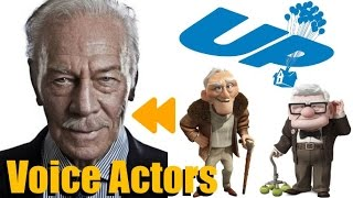 UP 2009 Voice Actors and Characters