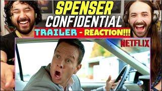 SPENSER CONFIDENTIAL  Mark Wahlberg Post Malone  TRAILER REACTION
