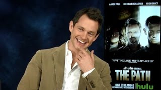 HUGH DANCY  THE PATH  ON AWKWARD SEX SCENE  ON CLAIRE DANES  INTERVIEW