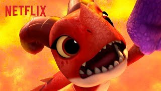 Lifted from the Lava  Dragons Rescue Riders  Netflix Jr
