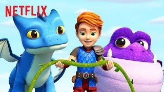 Dak Winger  Burple Land in Trouble  Dragons Rescue Riders  Netflix Jr