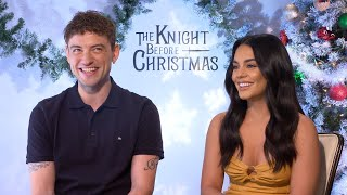 The Knight Before Christmas Vanessa Hudgens and Josh Whitehouse Exclusive
