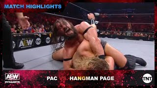 PAC Finishes Hangman Page with an Epic Brutalizer on AEW Dynamite
