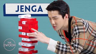Cast of Busted Season 2 plays Jenga ENG SUB