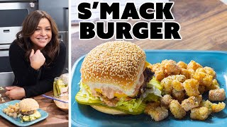 Rachael Ray Makes a Smack Burger and Tater Tots  30 Minute Meals