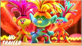 TROLLS WORLD TOUR ALL Official 6 Minutes Trailers NEW 2020 TROLLS 2 Animation HD