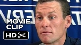 The Armstrong Lie Movie CLIP  Best Doper in History 2013  Lance Armstrong Steroid Documentary HD