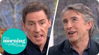 Gavin and Staceys Rob Brydon on When Improvising Goes Too Far With Steve Coogan  This Morning