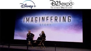 Disney The Imagineering Story with Leslie Iwerks from D23 Expo