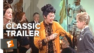 Auntie Mame 1958 Official Trailer  Rosalind Russell Forrest Tucker Movie HD
