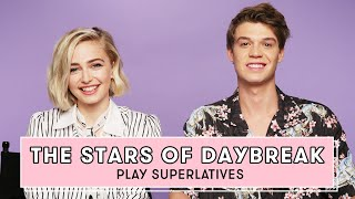 Netflixs Daybreak Cast Reveals Whos Most Likely to Send a Risky Text and More  Superlatives