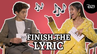 Can the High School Musical The Musical The Series Cast Finish That Lyric