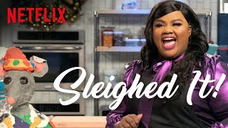 Nicole Byer Tries To Bake a Giant Mouse  Sleighed It  Full Episode  Netflix