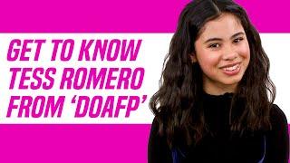 Diary of a Future President Star Tess Romero Reveals Favorite YouTuber TikToker and More