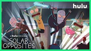 Solar Opposites  Teaser Official  A Hulu Original