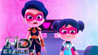 STARBEAM Season 1 Official Trailer NEW 2020 Netflix Superhero Animation Series 4K UHD