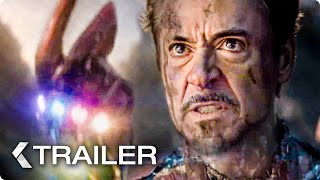 AVENGERS 4 Endgame Iron Man Snap Trailer 2019