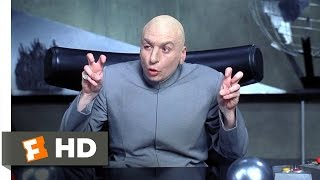 Throw Me a Frickin Bone Here Scene  Austin Powers International Man of Mystery Movie 1997  HD