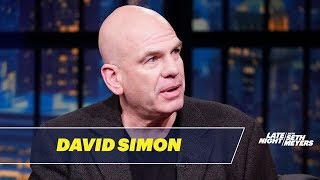 David Simon Negotiated with Philip Roth on Adapting The Plot Against America