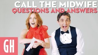 Call The Midwifes Stephen McGann  Laura Main answer your questions  Good Housekeeping UK