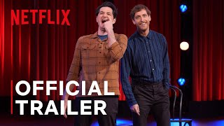 Middleditch  Schwartz  Official Trailer  Netflix Improv Comedy Specials