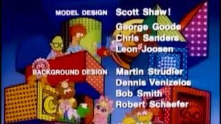 Muppet Babies 1984 Season 1 Closing Credits