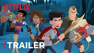 The Last Kids on Earth  Book 2 Trailer  Netflix Futures