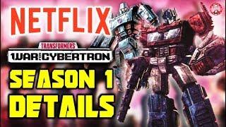 Netflix Transformers War For Cybertron  SEASON 1 Details REVEALED