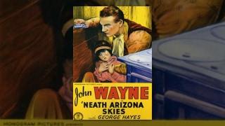 NEATH THE ARIZONA SKIES  John Wayne  Full Length Western Movie  English  HD  720p