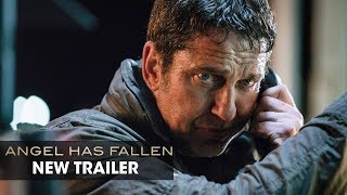 Angel Has Fallen 2019 Movie New Trailer  Gerard Butler Morgan Freeman