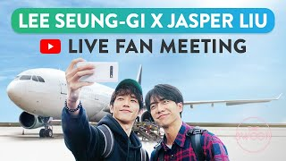 LIVE TWOgether Fan Meeting with Lee Seunggi and Jasper Liu ENG SUB CC