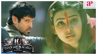 10 Endrathukulla Movie Fight Scene  Vikram fights goons and saves Samantha  Rahul Dev