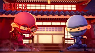 Lava Leap Teamwork  Hello Ninja  Netflix Jr