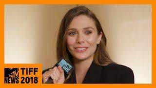 Elizabeth Olsen on Sorry for Your Loss  TIFF 2018  MTV News