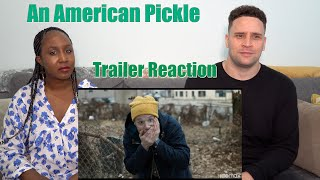 An American Pickle  Trailer Reaction