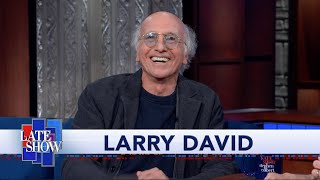 Larry David Reminisces About Colberts Guest Spot On Curb Your Enthusiasm