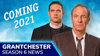 GRANTCHESTER Season 6 Renewed for 2021  Geordie Keatings Robson Green hat secret to be revealed