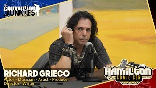 Richard Grieco 21 Jump Street Booker  Veronica Mars Star Hamilton Comic Con 2019 QA Panel