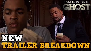 Power Book II Ghost OFFICIAL NEW TRAILER BREAKDOWN  Season 1 Predictions  Power Starz Spin Off
