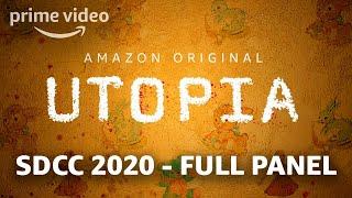 Utopia Cast at SDCC 2020  Full Panel  Amazon Prime
