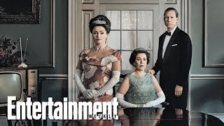 The Crowns Olivia Colman Tobias Menzies  More On New Season  Cover Shoot  Entertainment Weekly